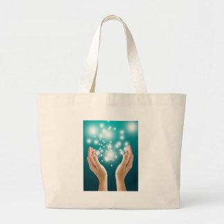 Healing hands 1 tote bag