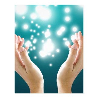 Healing hands 1 customized letterhead