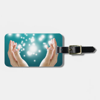 Healing hands 1 luggage tags