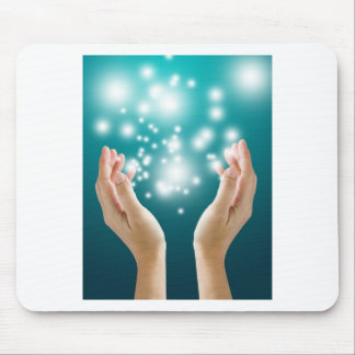 Healing hands 1 mouse pad