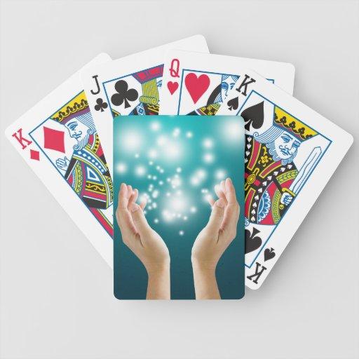 Healing hands 1 bicycle card decks