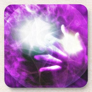 Healing hands 4 coasters