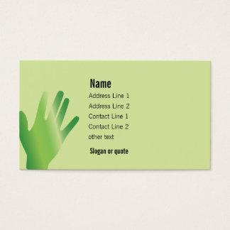 Healing Hands Business Card