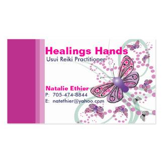 Healing Hands - Business Card5 Business Card