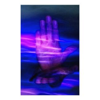 Healing Hands Custom Stationery