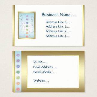 Healing Hands Holistic design Business Card