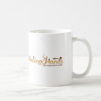 Healing Hands Massage Products Basic White Mug