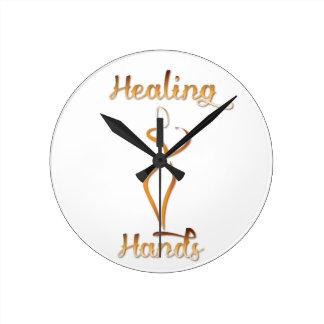 Healing Hands Massage Products Wall Clocks