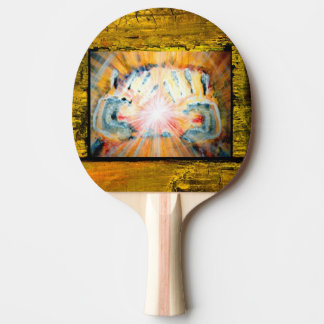 Healing Hands Ping Pong Paddle