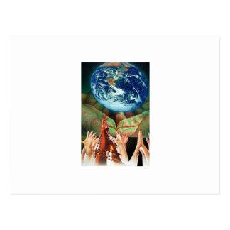 Healing Hands Postcard