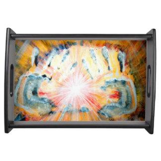 Healing Hands Serving Platters