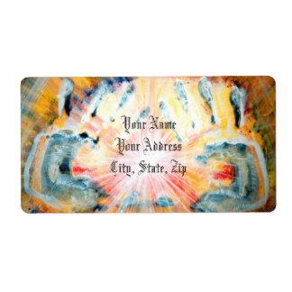 Healing Hands Shipping Label
