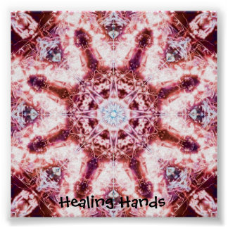 Healing Hands (small) Posters