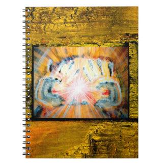 Healing Hands Spiral Notebook