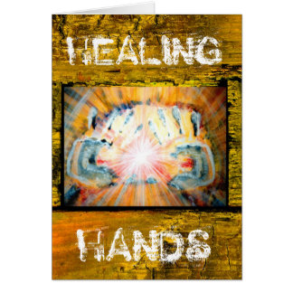 Healing Hands & The Path of Life Greeting Card
