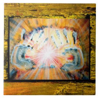Healing Hands Ceramic Tiles