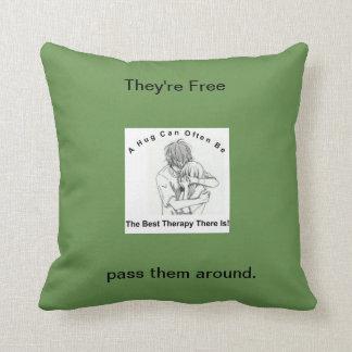 Healing Help Reminder Throw Pillow