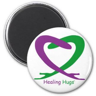 Healing Hugs 2 Inch Round Magnet