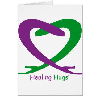 Healing Hugs Greeting Card