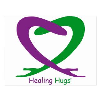 Healing Hugs Postcard