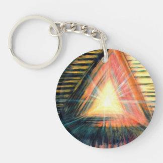 Healing Light & Healing Hands Keychain