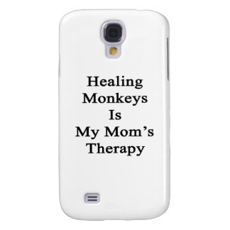 Healing Monkeys Is My Mom's Therapy Samsung Galaxy S4 Cases