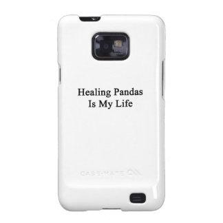 Healing Pandas Is My Life Samsung Galaxy SII Case