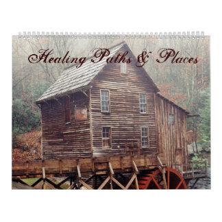 Healing Paths & Places Calendar