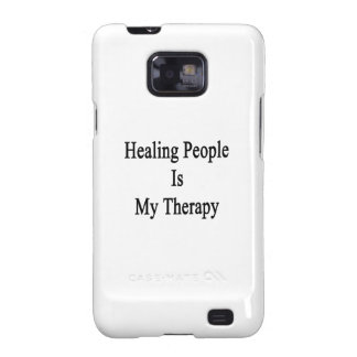 Healing People Is My Therapy Samsung Galaxy S2 Cases
