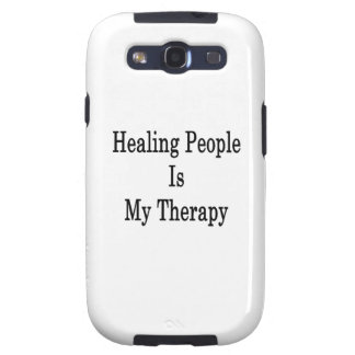 Healing People Is My Therapy Galaxy S3 Cases