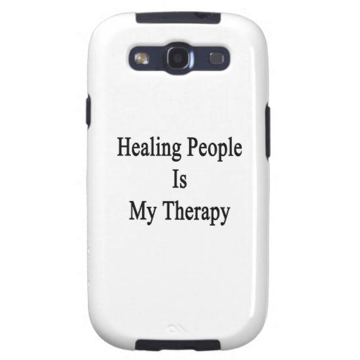 Healing People Is My Therapy Samsung Galaxy S3 Case