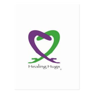 HEALING PERFECT POSTCARD