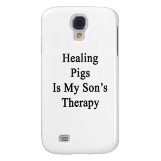 Healing Pigs Is My Son's Therapy Samsung Galaxy S4 Case