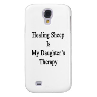 Healing Sheep Is My Daughter's Therapy Samsung Galaxy S4 Cover