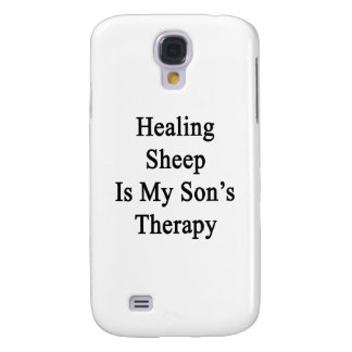 Healing Sheep Is My Son's Therapy Samsung Galaxy S4 Cases