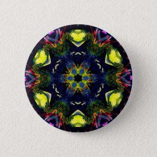 Healing Spiritual Chakra Mandala Meditation Art 2 Inch Round Button