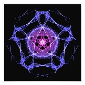 Healing Star Flower of Harmonic Resonance Art Photo