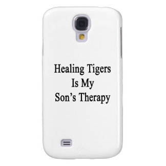 Healing Tigers Is My Son's Therapy Samsung Galaxy S4 Cover
