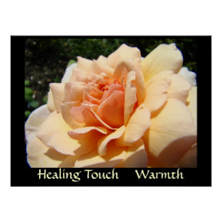 HEALING TOUCH Art Prints WARMTH Healthcare Artwork Poster