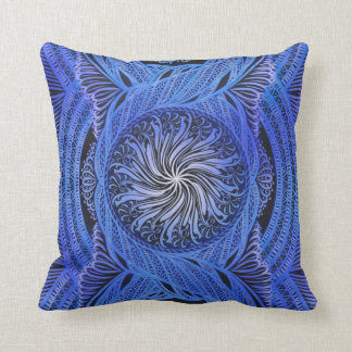 Healing Wave ,reiki, healing, chakra Throw Pillow