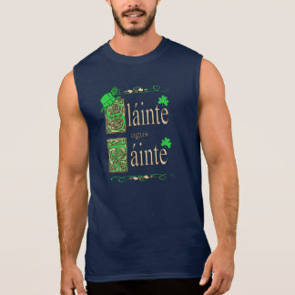 Health and Wealth Sleeveless Shirt