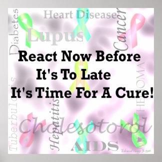 Health Awareness! Poster