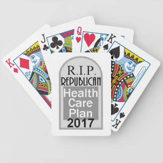 Health Care Bicycle Playing Cards