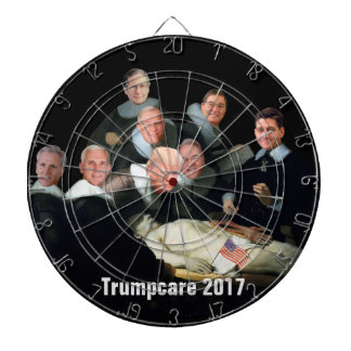 Health Care Farce of 2017 Dartboard