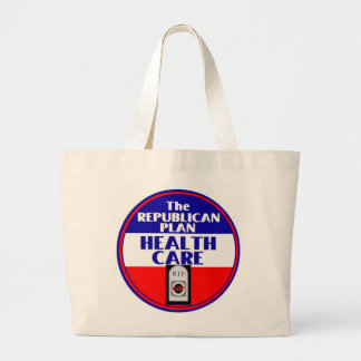 Health Care Large Tote Bag