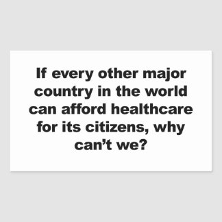 Health care, why can't we?