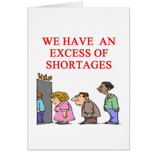 health cre shortage card