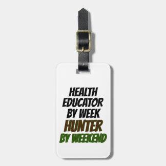 Health Educator Hunter Luggage Tag
