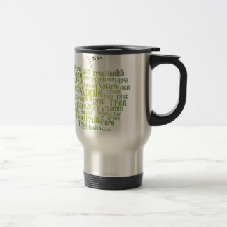 Health Green Eco Friendly 15 Oz Stainless Steel Travel Mug