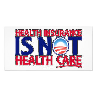 Health Insurance Health Care Personalized Photo Card